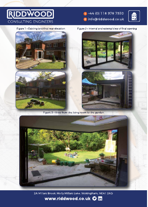Residential Extension- Corner Bi-Fold Doors