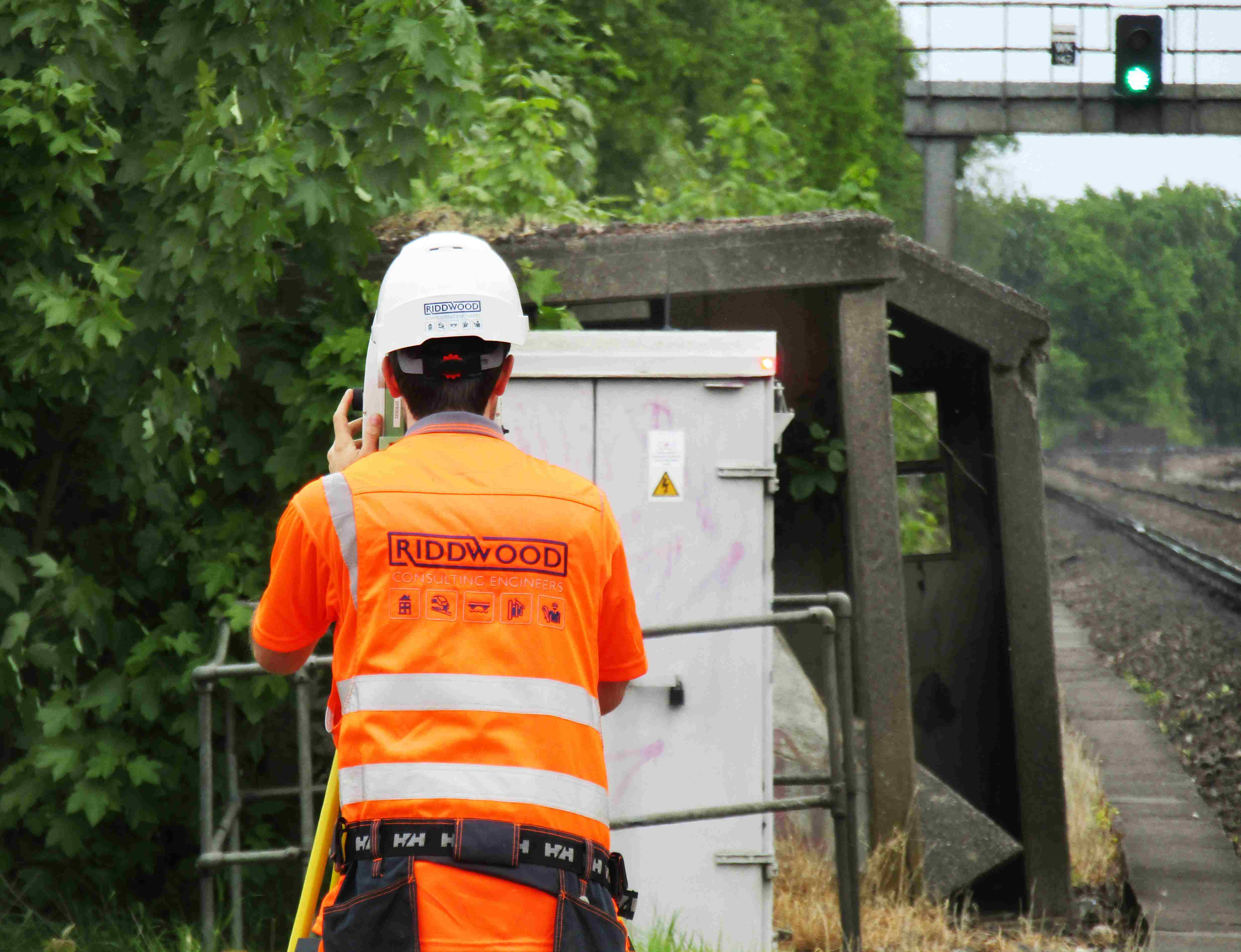 Reactive Works At Hersham Station